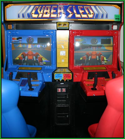 A picture of my cyber sled video game