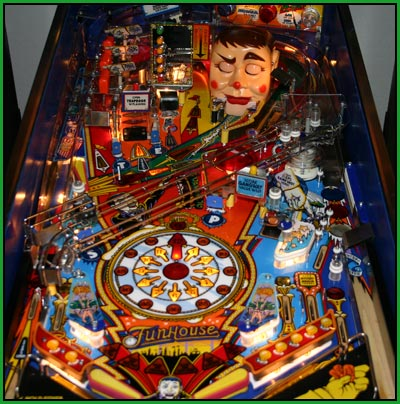 A picture of my funhouse pinball machine