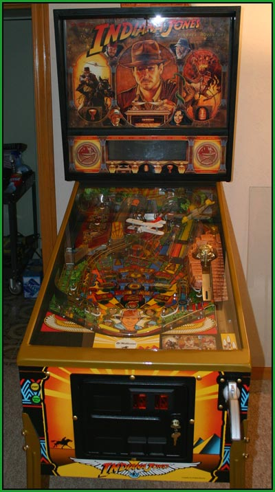 A Picture of my Indiana Jones Machine