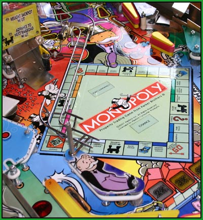 monopoly pinball picture