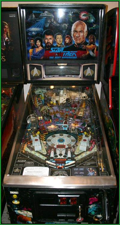 A picture of Star Trek The Next Generation pinball machine